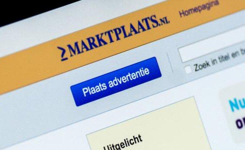 marktplaats website